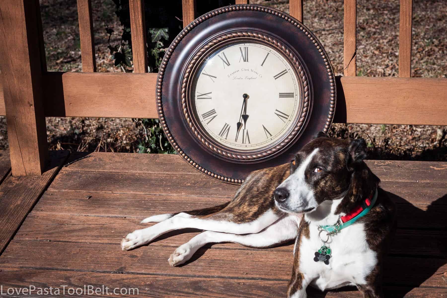 Repurposed Clock 3 DIY Repurposed Clock to Chalkboard