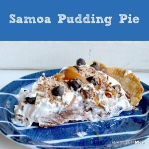 Samoa Pudding Pie