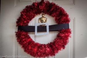 Santa Wreath-2