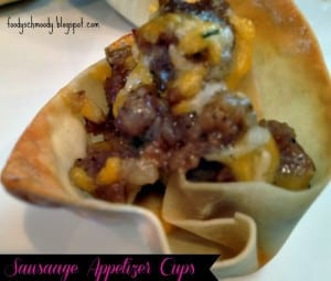 Sausage Cup Appetizer