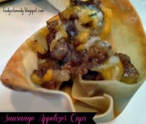 Sausage Cup Appetizer