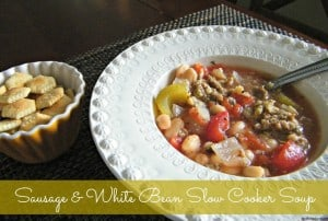SausageWhiteBeanSlowCookerSoup