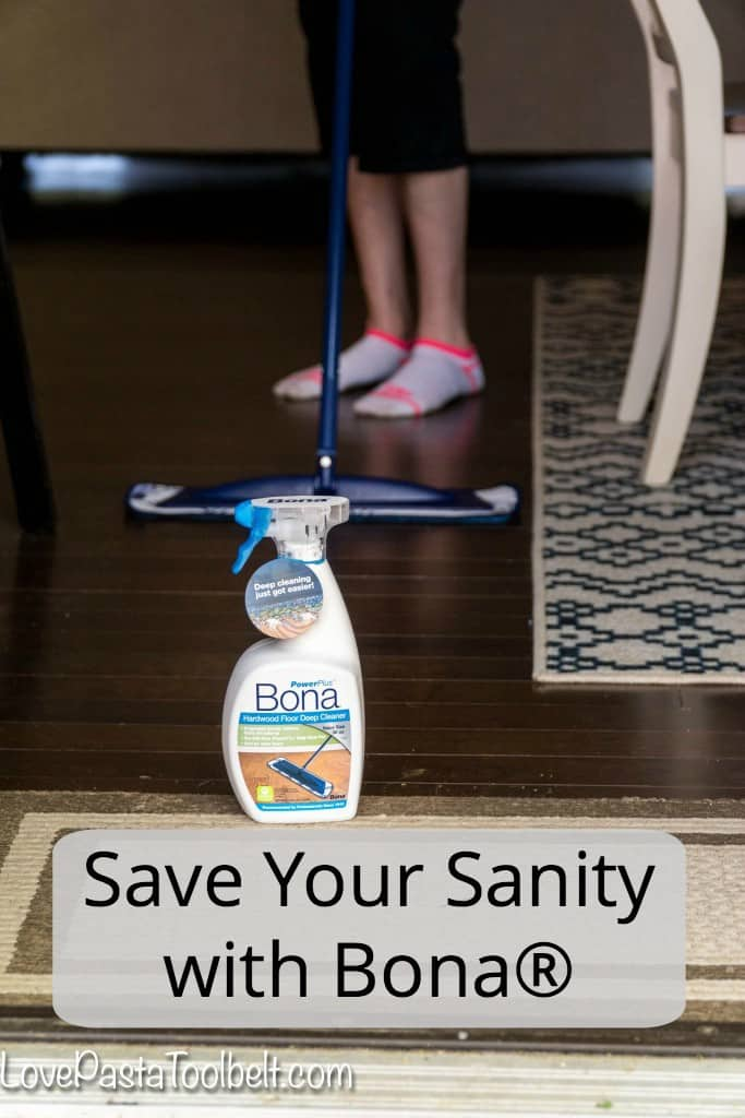 Ever feel like your hardwood floors control you? Take back the control and Save Your Sanity with Bona® #ad #PowerPair | cleaning | house | home |