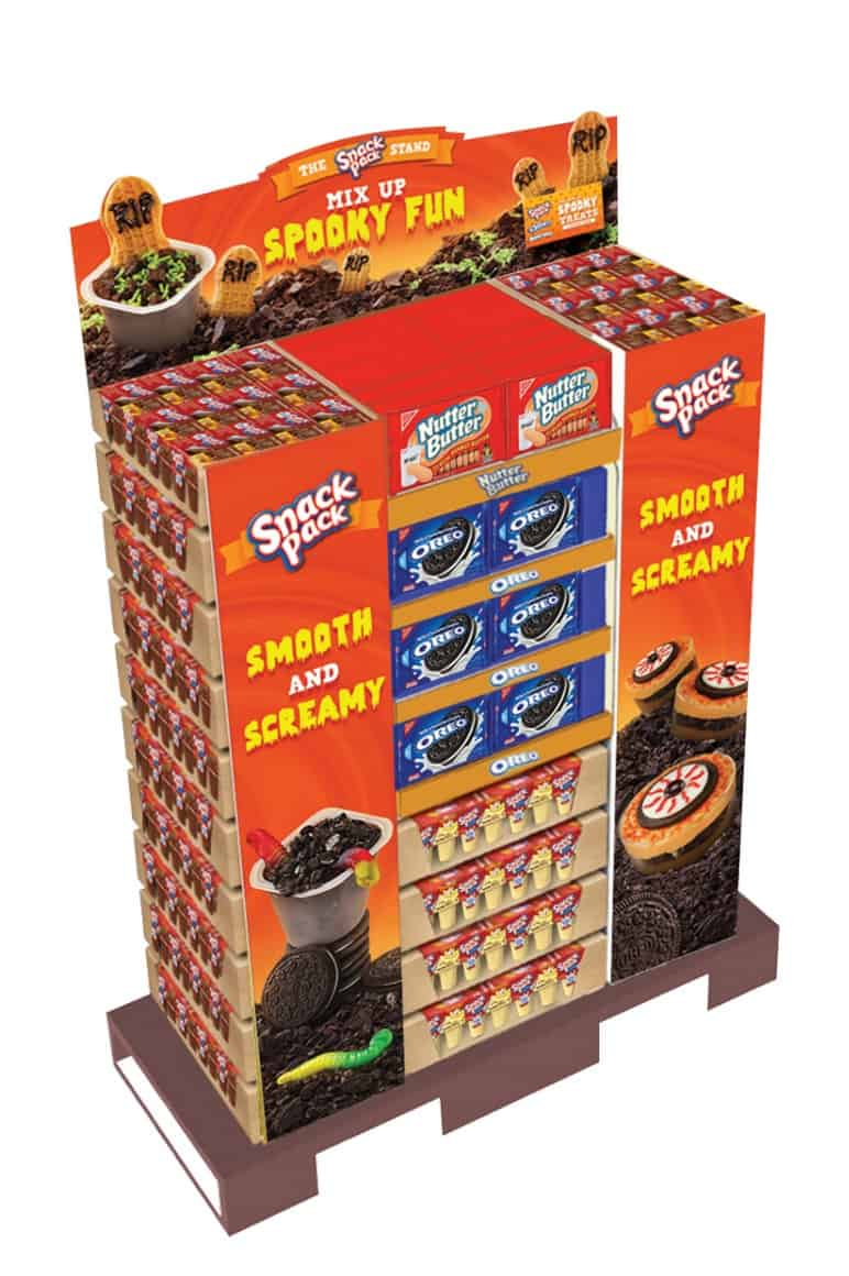 Witches Cauldron Snack Pack Pudding Cups Love Pasta