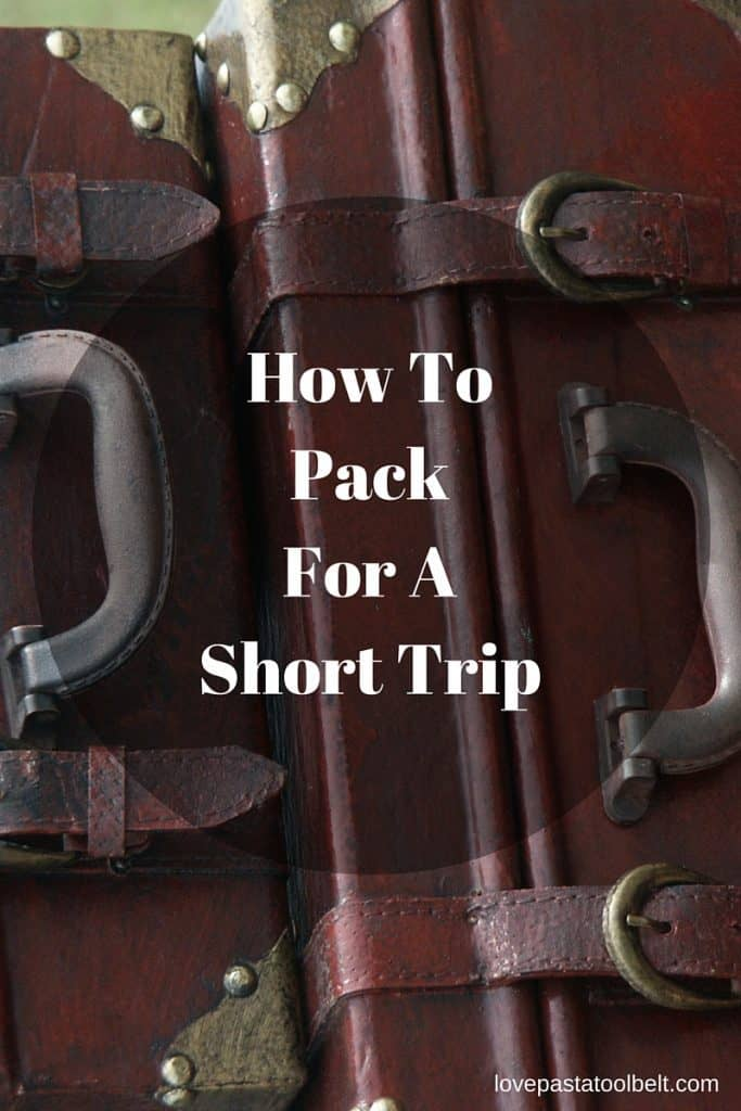 Have some short trips coming up? Check out these tips on How to Pack for a Short Trip!