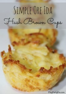 Simple Hash Brown Cups