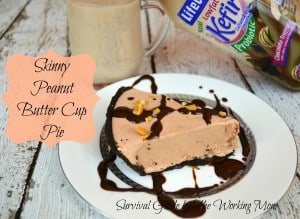 Skinny Peanut Butter Pie