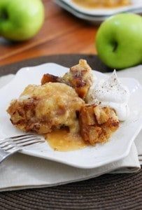 Slow Cooker Apple Pudding Cake 3