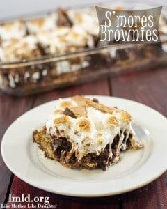 Smores Brownies-LMLD