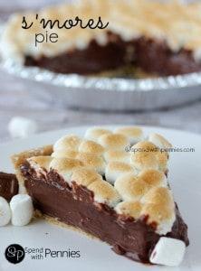 S'mores Pie No Bake