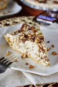 Snicker Bar Pie 1