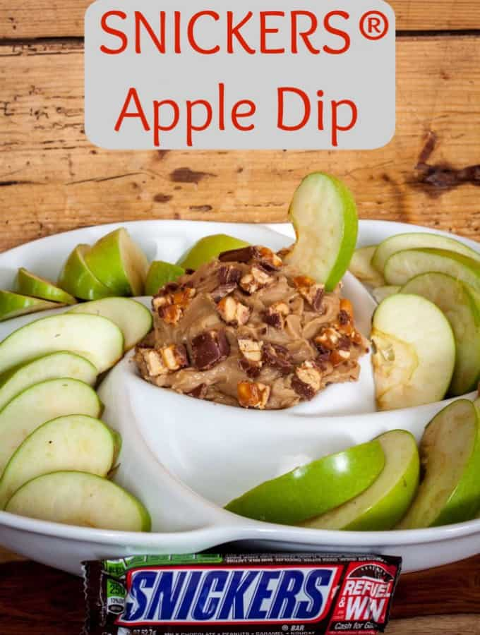 SNICKERS® Apple Dip- Love, Pasta and a Tool Belt #Chocolate4TheWin #shop