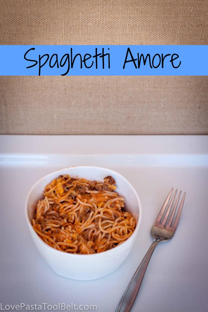 Spaghetti Amore- Love, Pasta and a Tool Belt