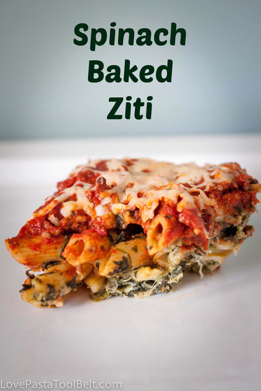 Spinach Baked Ziti - Love, Pasta, and a Tool Belt