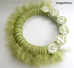 23 Beautiful Spring Wreaths-Love, Pasta and a Tool Belt