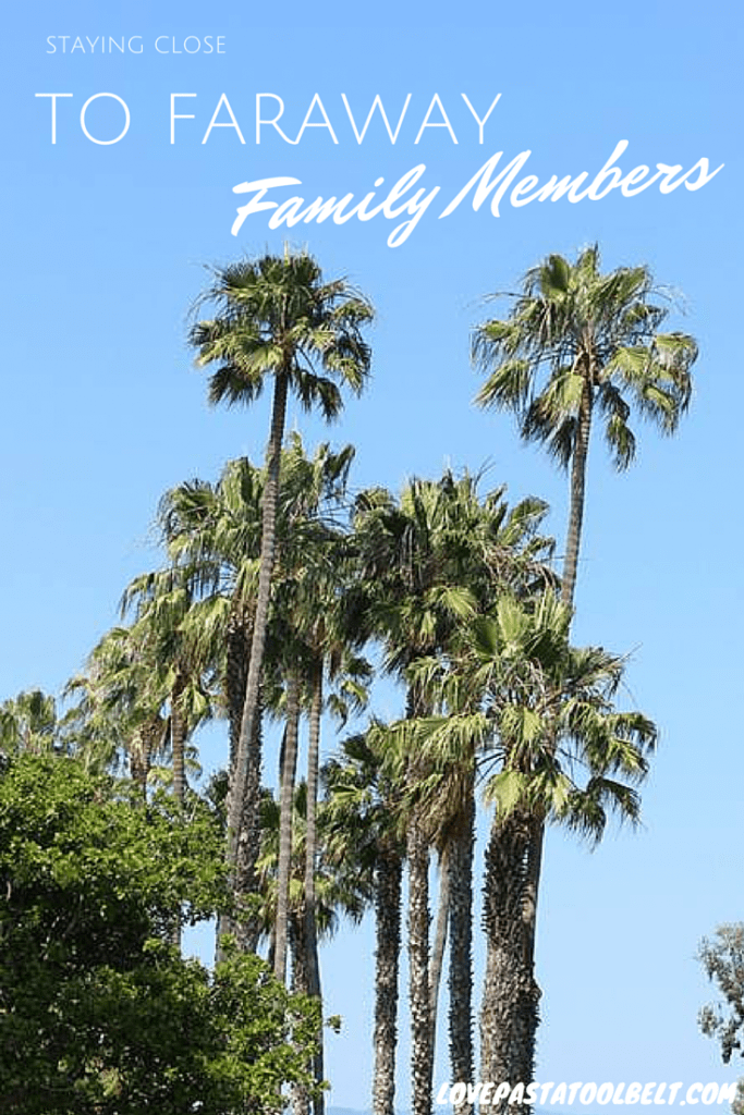 My contributor Rebecca is sharing tips for Staying Close to Faraway Family- Love, Pasta and a Tool Belt | family | travel |