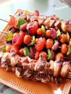 Steak and Chicken Kabobs