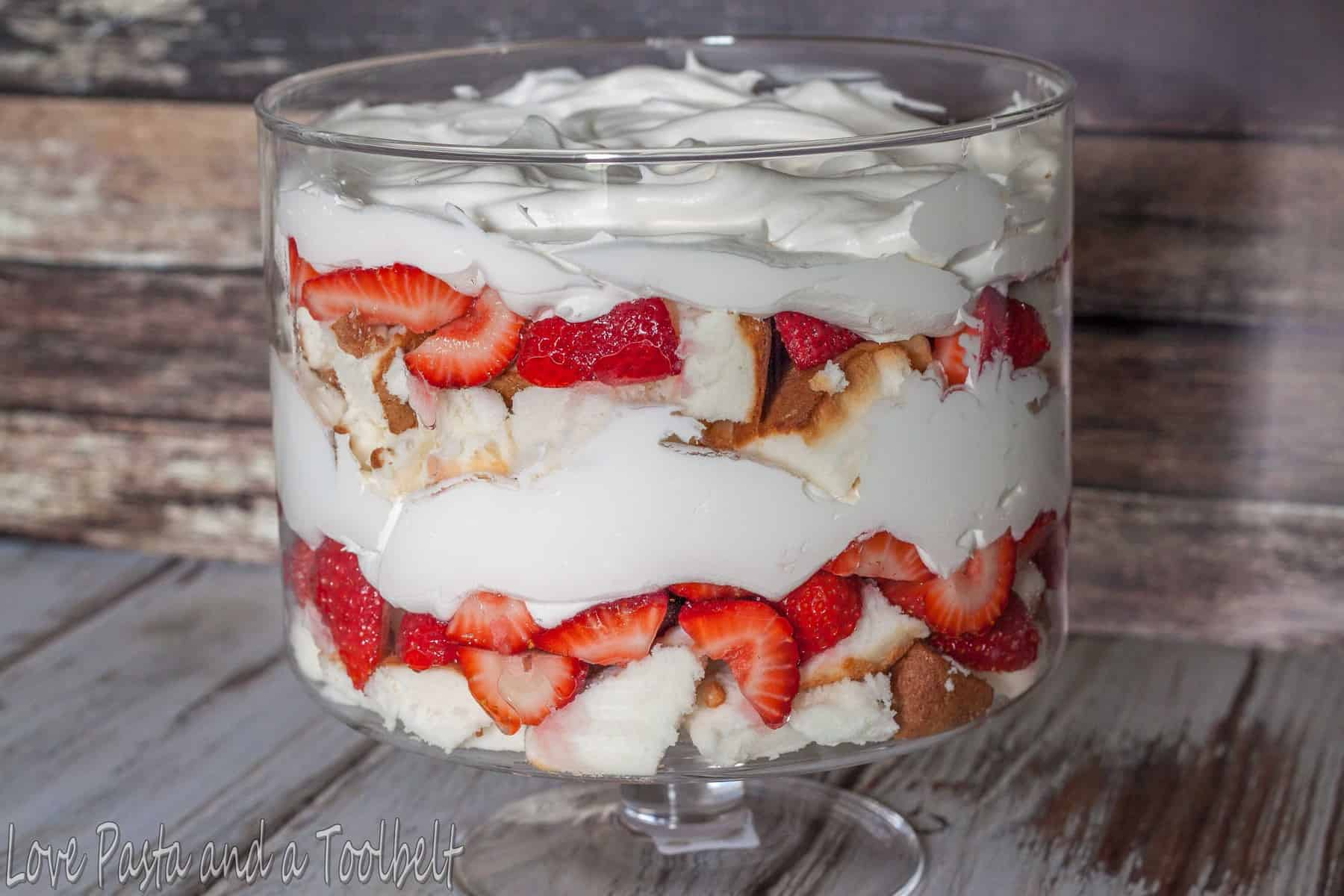 Strawberry trifle dessert love pasta and a tool belt beat the heat with this chilled strawberry trifle dessert love pasta and a tool forumfinder Image collections