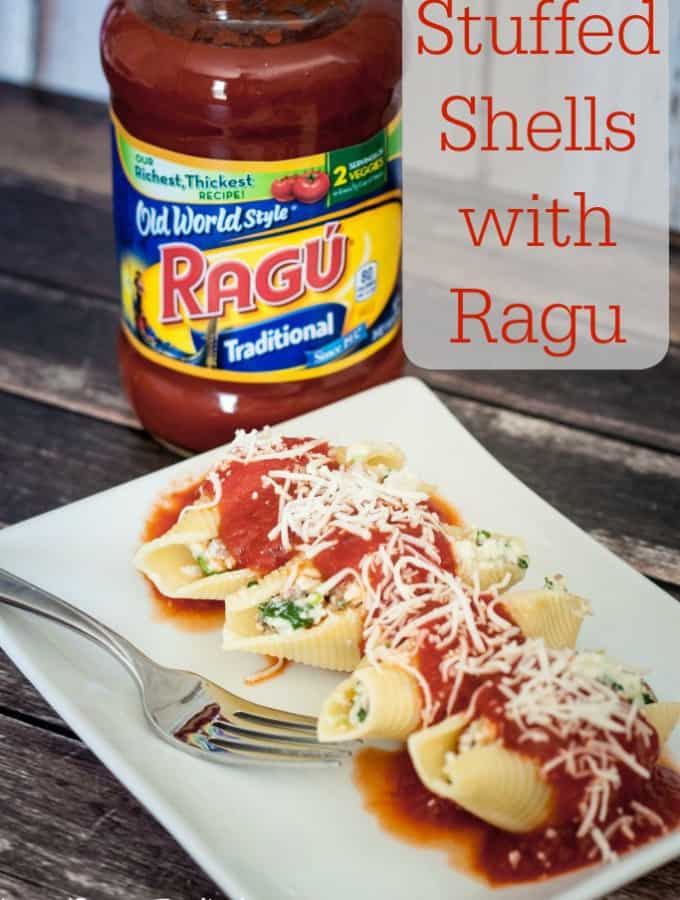 Stuffed Shells with Ragu