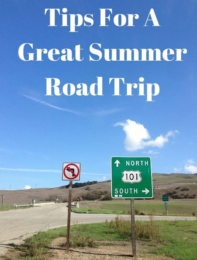 Summer is here and we've got some Tips for a Great Summer Road Trip