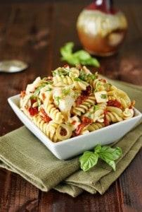 Sun-Dried-Tomato-Artichoke-Fresh-Basil-Pasta-Salad 2