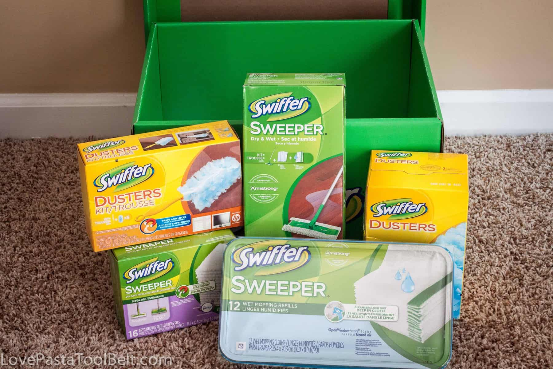 The Swiffer Effect Love Pasta And A Tool Belt