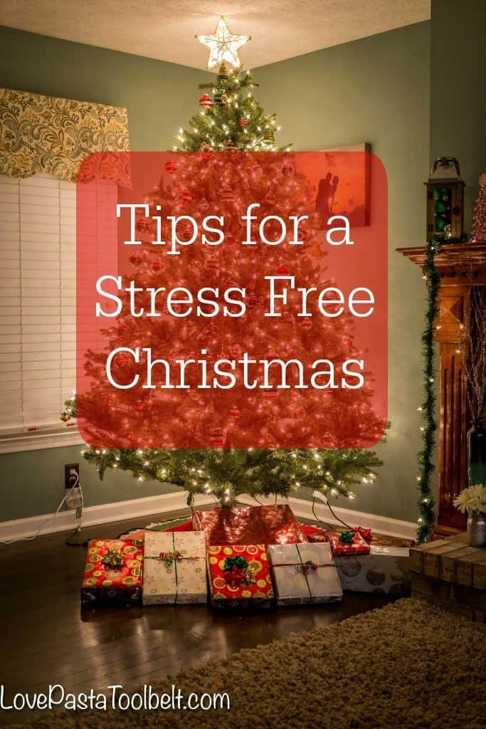 Today we're sharing some Tips for a Stress Free Christmas so you can enjoy the season- Love, Pasta and a Tool Belt #HolidayNecessities #CG #ad