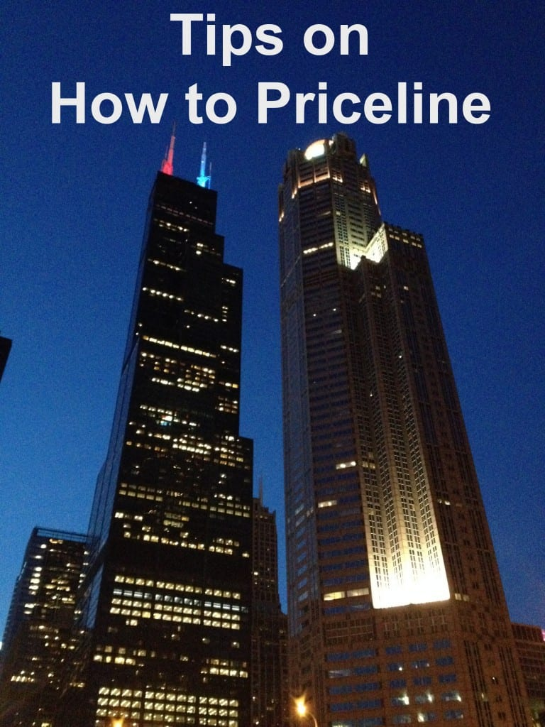 Tips on How to Priceline- Love, Pasta and a Tool Belt