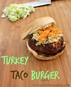 Turkey Taco Burger