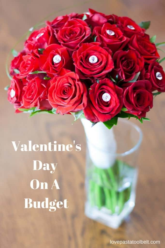 My contributor Rebecca is sharing how to do Valentine's Day on a Budget- Love, Pasta and a Tool Belt | Valentines | DIY Gifts | Budget | Save Money|