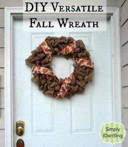 Versatile Fall Wreath