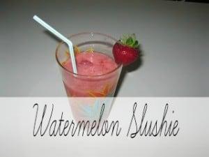 Watermelon Slushie from Creative Home Keeper