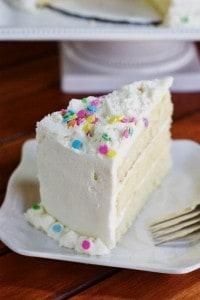 White Chocolate Birthday Cake 5