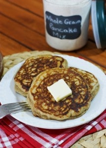 Whole Grain Pancakes 1