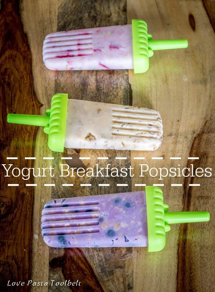 Have your yogurt parfait in a popsicle with these Breakfast Yogurt Popsicles with Yoplait®- Love, Pasta and a Tool Belt #ad #sweetsummersnack