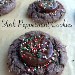 York Peppermint Cookies