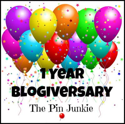 Pin Junkie Blogiversary Link Party