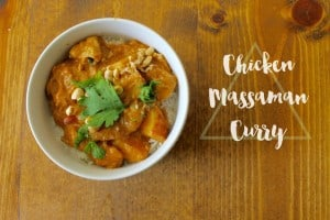 Please welcome my new contributor Heather from The Deans List as she shares her recipe for Chicken Massaman Curry!- Love, Pasta and a Tool Belt | recipes | recipe ideas | Thai food | Chicken recipes | crockpot |
