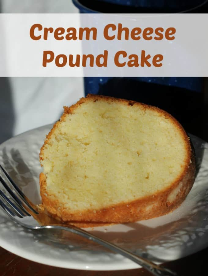 Cream Cheese Pound Cake- Love, Pasta and a Tool Belt | Pound Cake | Cake | Desserts | Recipes | Cream Cheese |