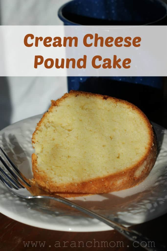 Cream Cheese Pound Cake - Love, Pasta, and a Tool Belt