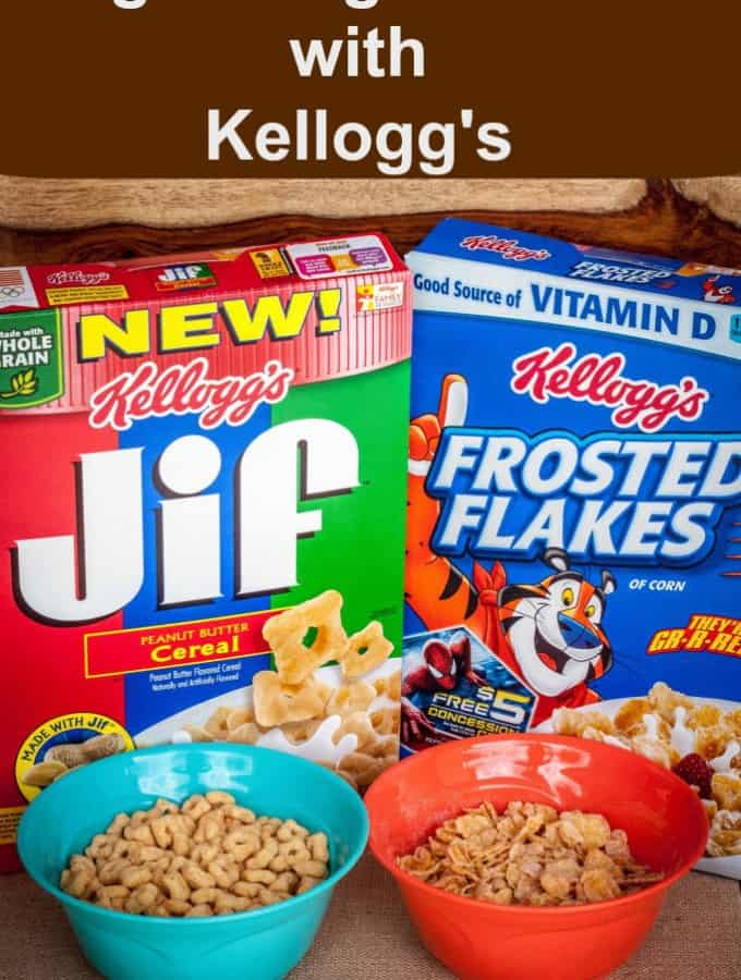 #goodnightsnack with Kellogg's #cbias