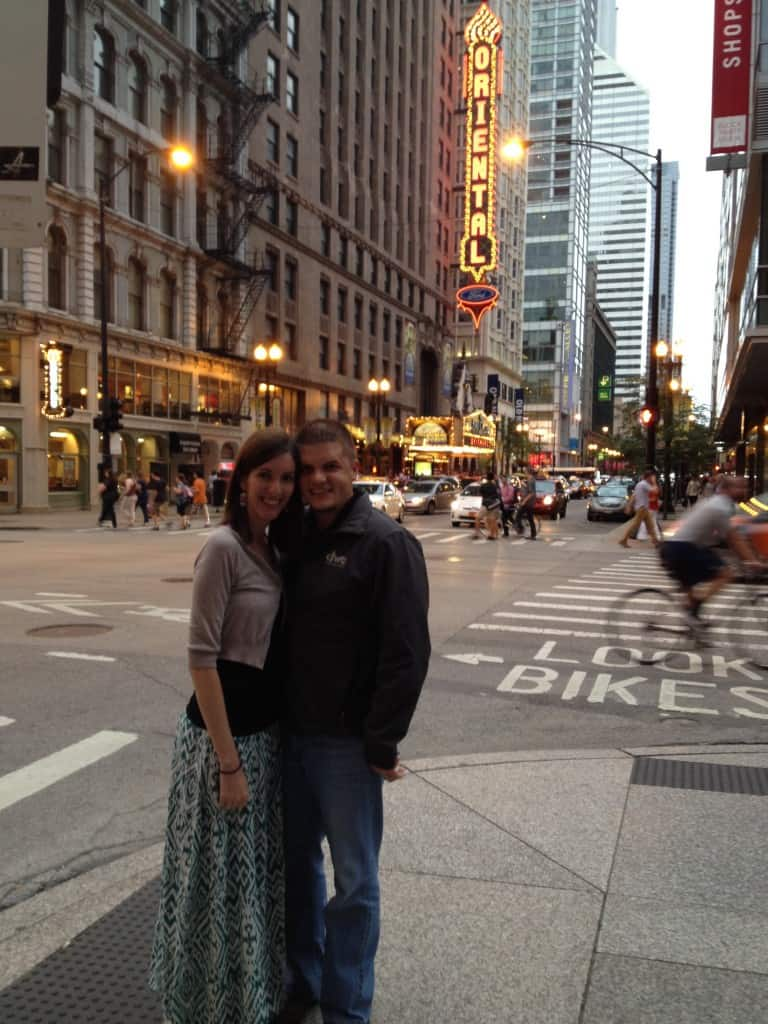 Our Trip to Chicago- Love, Pasta and a Tool Belt